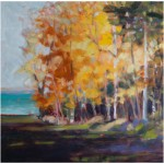 """Autumn Invitation""  Oil 16""X16""  SOLD"