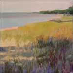 """Beach Shadows"" Oil 12"" X 12"", Blue Heron Gallery"