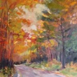 """Autumn Walk II""30""X24"" Oil, Available"
