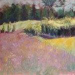 """Vineyard Slope"" 16""X16"" Oil, Available"