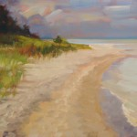 """Footprints""Oil 16""X16"", Blue Heron GallerySOLD"