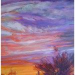 """Looking West""30"" X 40"" AcrylicSOLD"