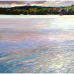 """October Afternoon""16""X16"" Oil, Blue Heron Gallery"