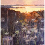 """Queen Anne Sunset""Oil 30"" X 40"", Bella GalleriaSOLD"