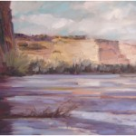 """Reflections of Canyon de Chelley""OILSOLD"