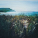 """Looking South from Leland""OIL 16"" x 20""SOLD"