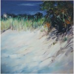 """October 2001""Leland, OIL 40"" x 40"", Bella GalleriaSOLD"