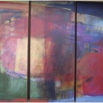 """Spirit Trilogy""Acrylic (each panel) 3'x7'Commission"