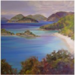 """St. John Commission""  36""x36"" Oil"