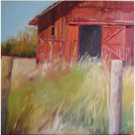 """Where Have All The Farmers Gone""OIL 30"" x 30"", Blue Heron GallerySOLD"